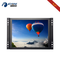 ZK080TN 7052/8 inch 1024x768 AV BNC Open Embedded Frame Power On Boot Monitor/8 inch Metal Shell Industrial PC Display Monitor