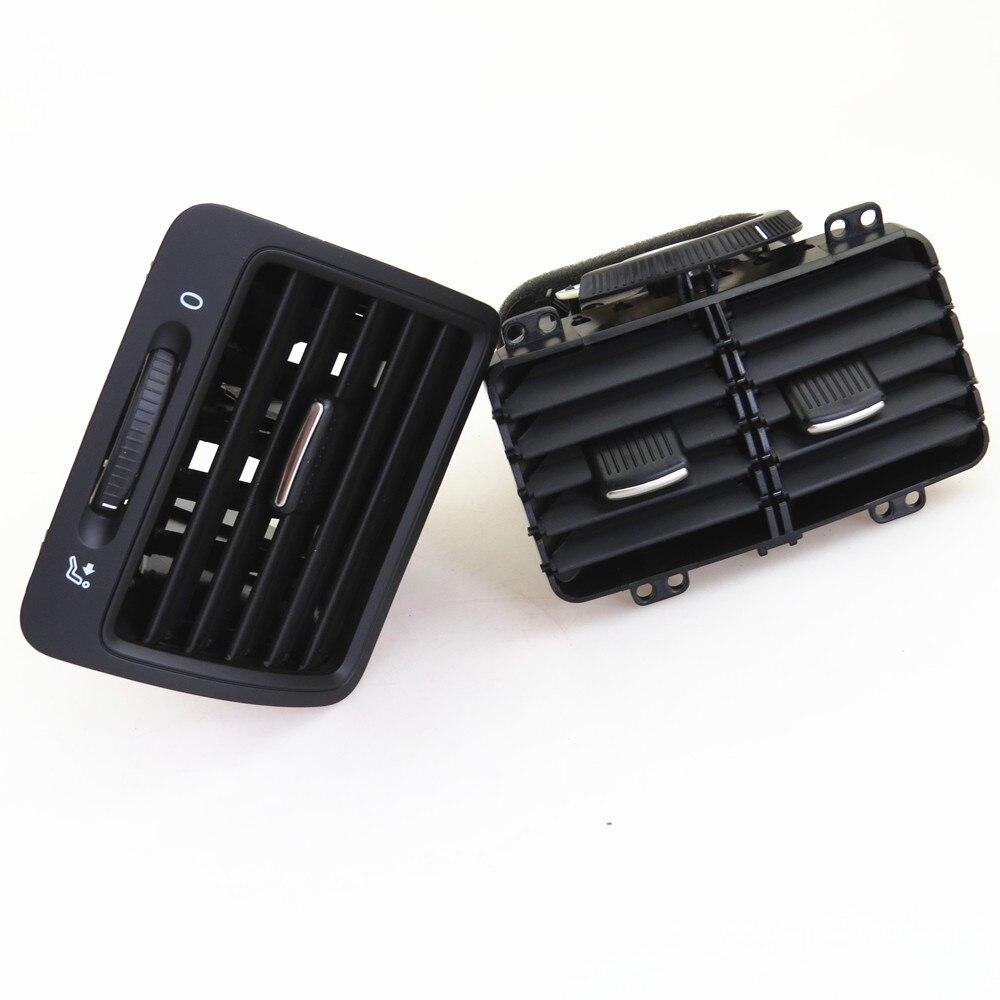 FHAWKEYEQ L & R вентиляционные отверстия для автомобильного кондиционера для VW Jetta MK5 Golf MK5 Rabbit 1KD 819 203 1KD819703 1KD 819 704 1K0 819 710 - 5
