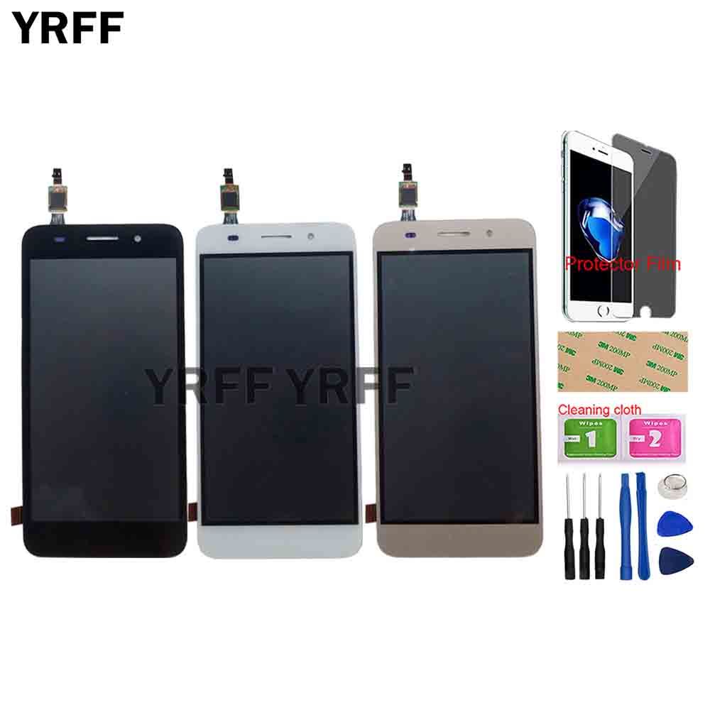 LCD Display For Huawei Y3 2017 CRO-L22 CRO-L02 CRO-L03 CRO-L23 CRO-U00 LCD Display + Touch Screen Digitizer Assembly Tools