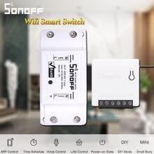 SONOFF MINI/Basic/Dual/RF/TH10/TH16 SONOFF POW R2 RF Brücke Wifi Schalter DIY licht Smart Home Automation Relais Modul Alexa