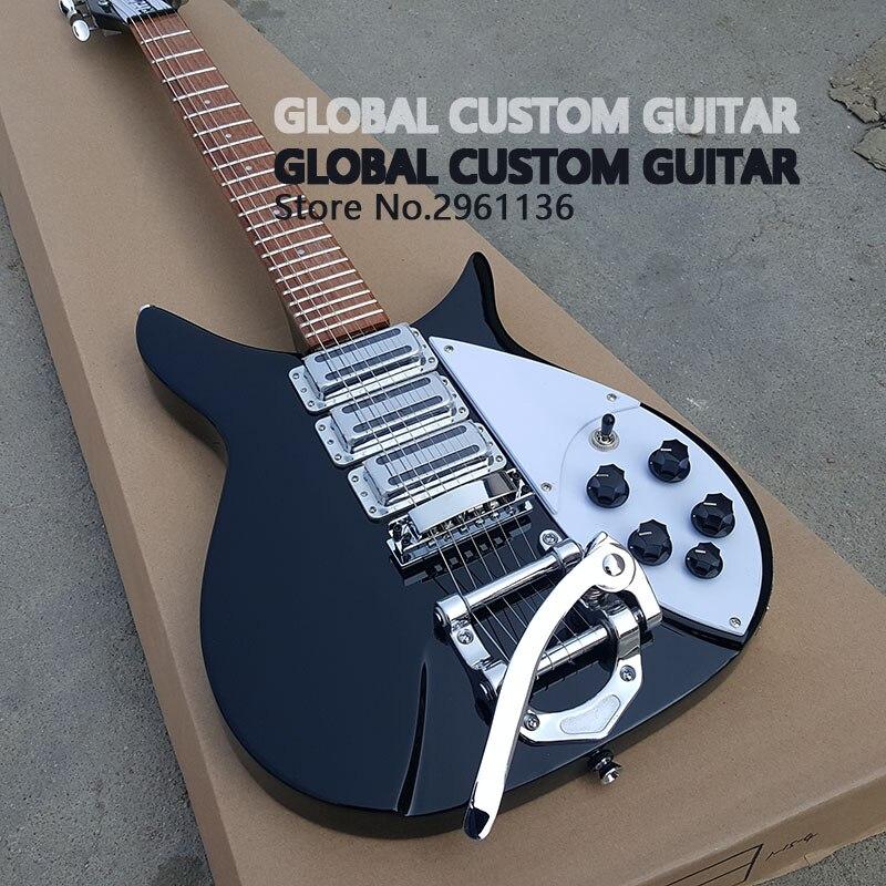 Alta qualidade guitarra elétrica, ricken 325 guitarra elétrica, backer 34 polegadas, pode ser personalizado, frete grátis