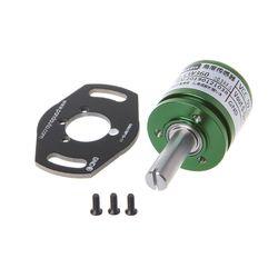 Датчик угла, потенциометр с эффектом холла, аналоговый преобразователь, вращение, бесконтактный инструмент, DC 5V 10166