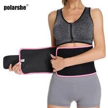 Cintura trainer espartilho cinto de neoprene feminino suor envoltório barriga perda de peso emagrecimento cinto cinta corpo cintura cinto shaperwear