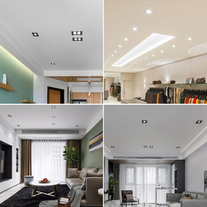 Image 5 - LED Downlight 12V DC 3W 5W 7W 9W LED Spot light Mini AC12V voltage Waterproof LED decoration Ceiling Lamp Bathroom Panel Light