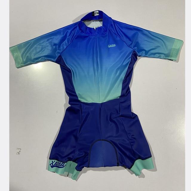 2020 xama verão ciclismo macacão de manga curta skinsuit profissional ciclismo roupas roupa ciclismo equipe roadbike correndo terno 2