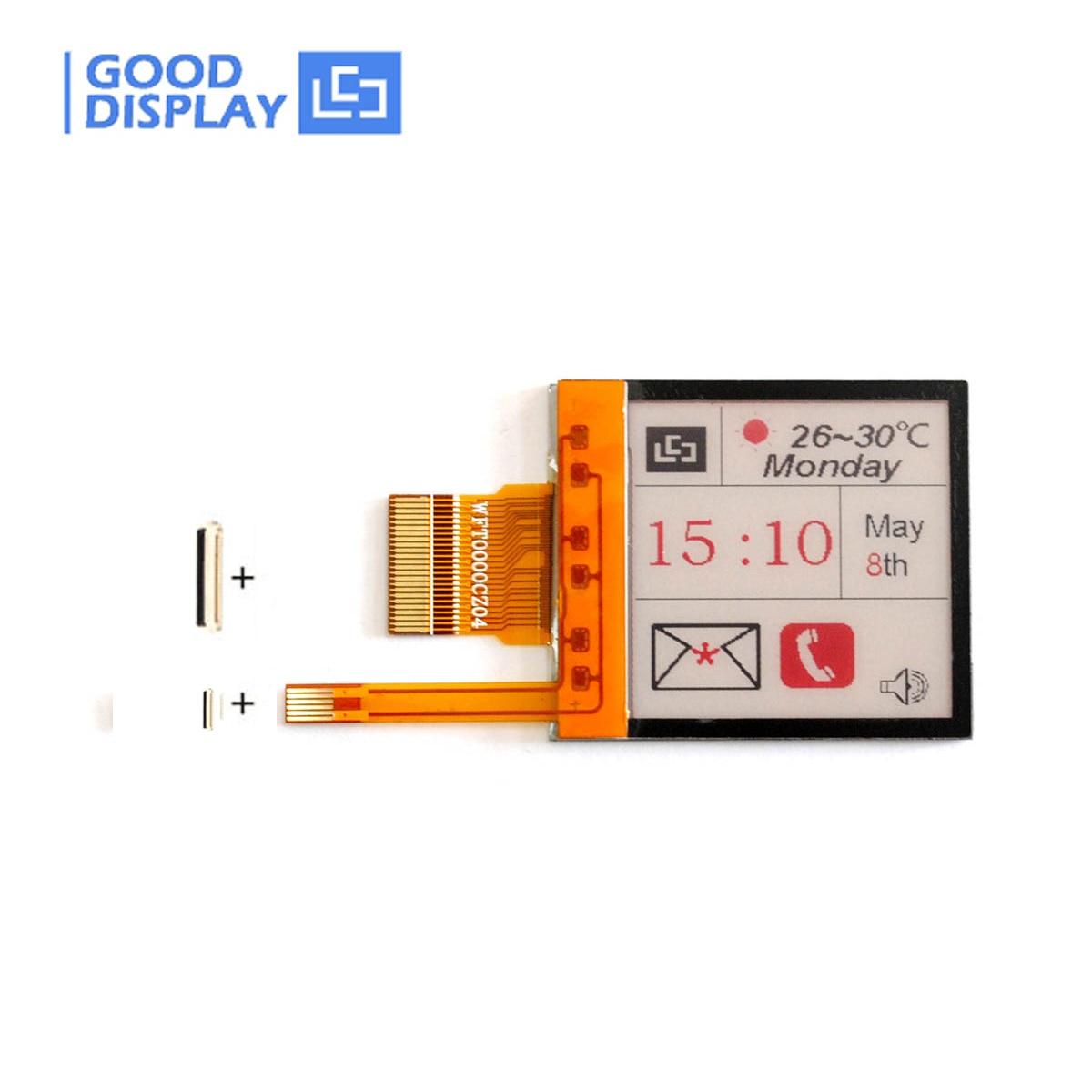 1.54 Inch 3-color Epaper Screen With Frontlight Display Eink Display