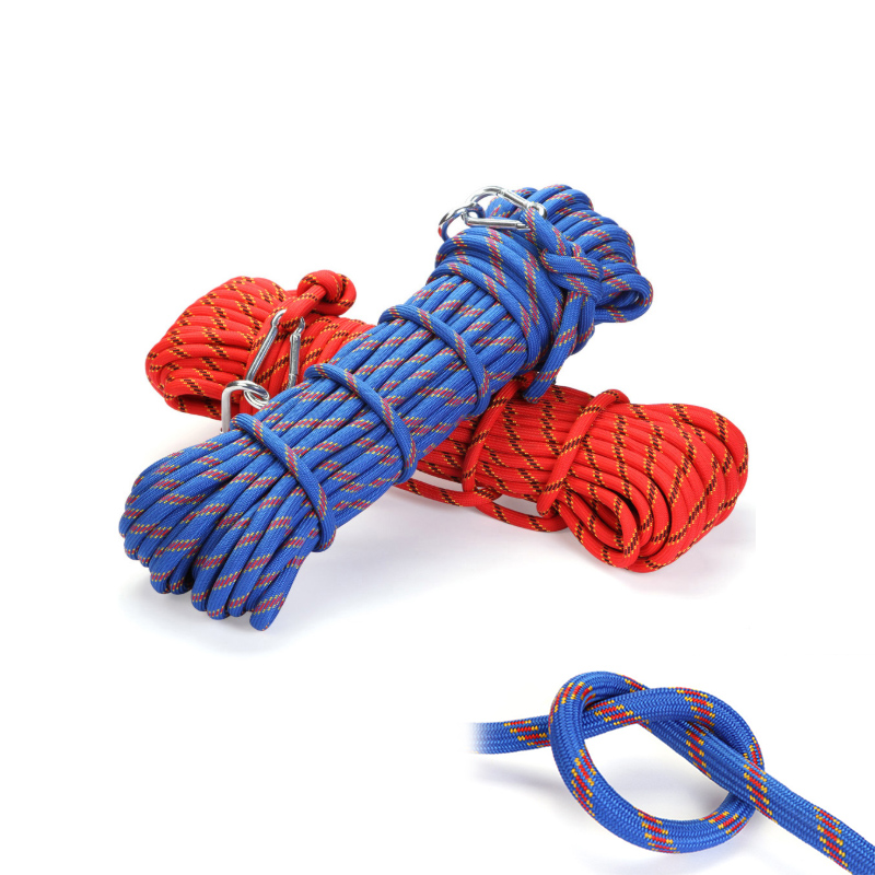 Outdoor Rescue Rope Mountaineering Fine tuning Safety Rope Climbing Rope Insurance Escape Rope Wild Walking Survival Equipment in Climbing Accessories from Sports Entertainment