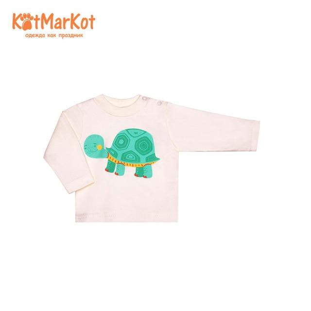 Блузки и рубашки КотМарКот, 7931 пуловер, джемпер для мальчиков и девочек, Куртки Хлопок, кот, Сотмаркет