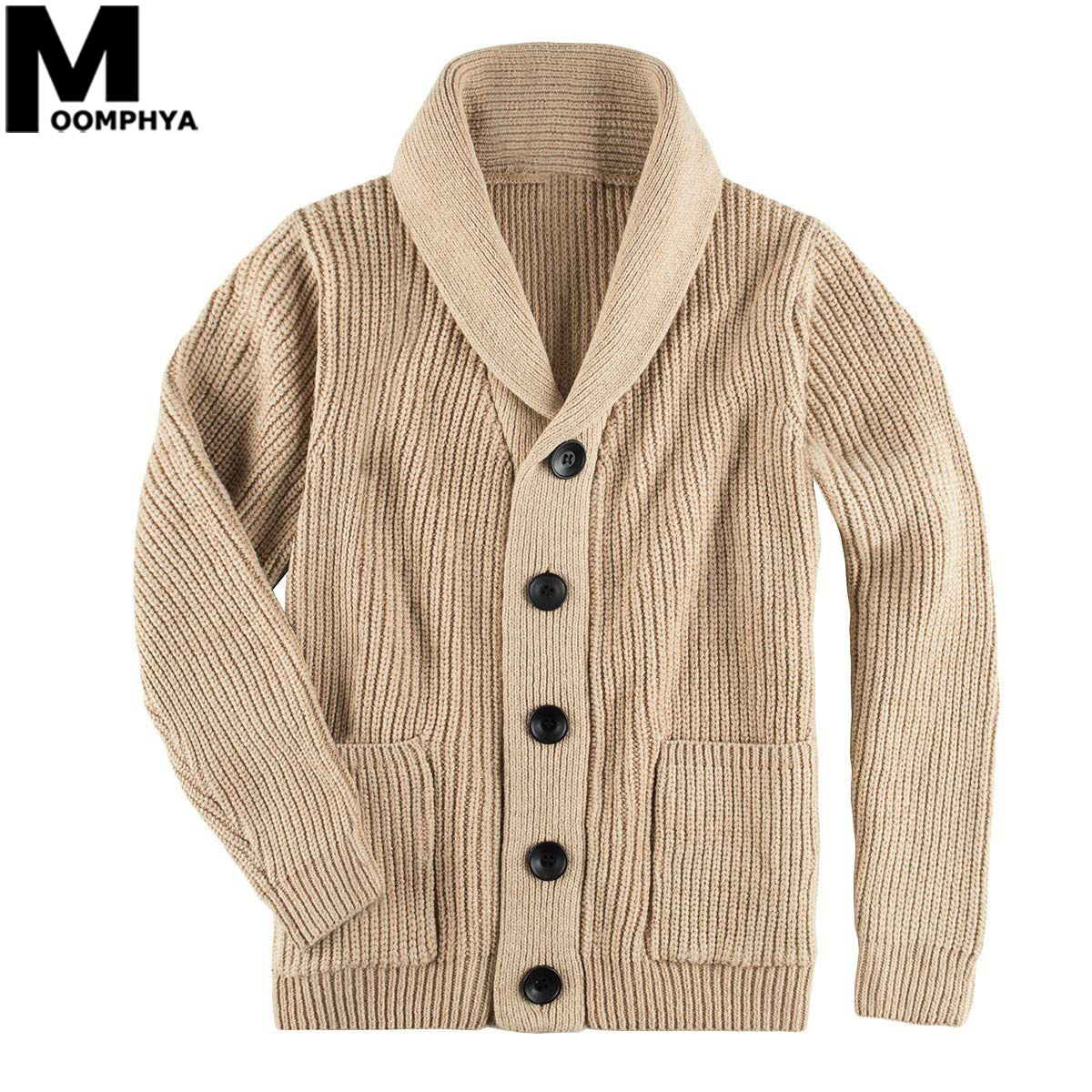 2020 Knitted Long Sleeve Men Sweater Coat Streetwear Jacquard Sweater Men Casual Turtleneck Cardigan Sweater Winter Sweater Men