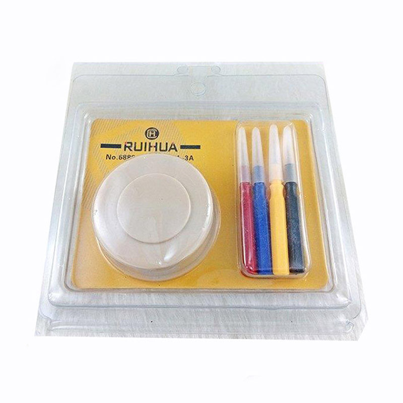 Latest Watch Repair Tool Watch Drop Oiler Set Watch Oil Dish With 4 Pieces Oil-Pin For Watchmaker Reparing