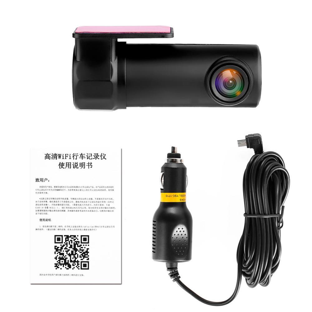 OLPAY Dash Cam Wifi Car DVR Camera 1080P HD Night Vision English Voice Control Car Camera Auto Video Recorder G sensor in DVR Dash Camera from Automobiles Motorcycles