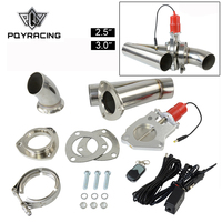 2.5 or 3.0 Electric Stainless Exhaust Cutout Cut Out Dump Valve/switch with Remote control PQY5295