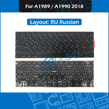 New A1989 A1990 keyboard RU Russian Small Enter key for Macbook Pro Retina 13″ 15″ Mid 2018 Russia Keyboard Replacement