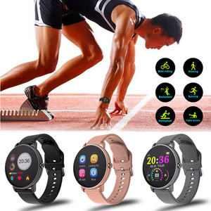 Image 5 - 2020 pleine touche montre intelligente hommes pression artérielle Smartwatch femmes étanche fréquence cardiaque Tracker Sport horloge montre pour Android IOS