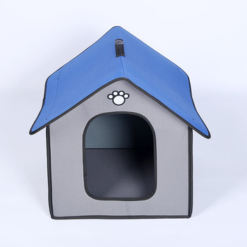 Outdoor Dog Bed Waterproof and Rainproof Dog Kennel Suitable for Large and Small Dogs Outdoor Dog House Cat Kennel Pet Products
