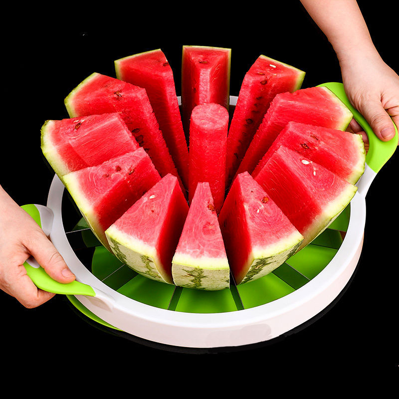 Stainless Steel Cut Watermelon Useful Product Watermelon Slice Block Maker Multifunctional Cutter Fruit Cut Watermelon Useful Pr