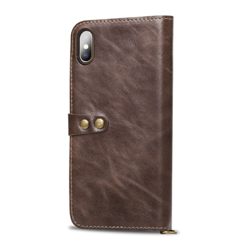New 100% Leather Luxurious Comfortable For 11 PRO MAX Wallet Flip Phone Case For iPhone 6 6S 7 8 Plus X XR XS MAX