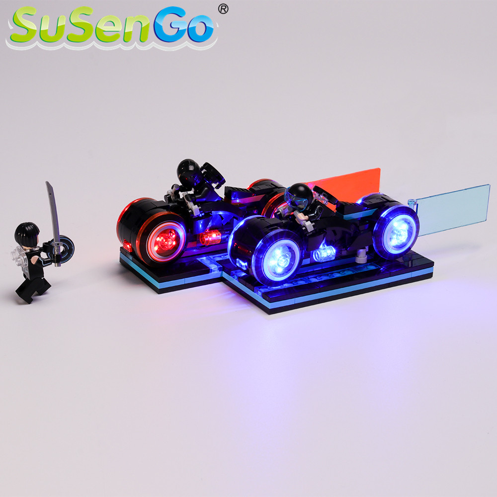 SuSenGo LED Light Set For Ideas Legacye Building Blocks Lighting Set Compatible with 21314 <font><b>10881</b></font> (Model Not Included) image