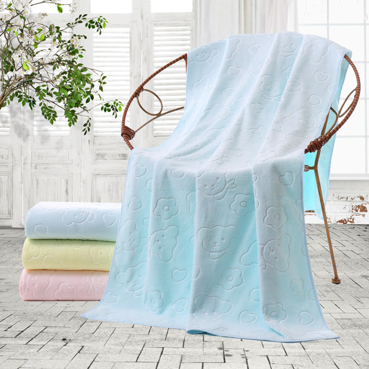 Towel Bath Towel Set Men And Women Baby Infant Soft Absorbent Adult Children Bath Is Not Cotton