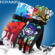 Ski-Gloves Fleece Riding Motorcycle Coldproof Warm Winter Sports Outdoor Adult Thickened