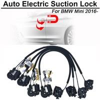 Smart Auto Sucção Elétrica Fechadura Da Porta para BMW Mini 2016-Automatic Soft Feche a Porta Porta Do Veículo do Carro de Super Silêncio