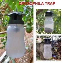 Белая ловушка для мух ловушка для насекомых Ловушка для дрозофилы пластиковая ОСА подвесной садовый вредитель удобный мух ловушка для уличных мух
