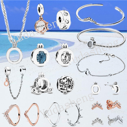 Princess Wishbone Ring Tiara Stud Earrings Queen & Regal Crown O Dangle Charm Necklace Bracelet Bangle Safety Chain Clip