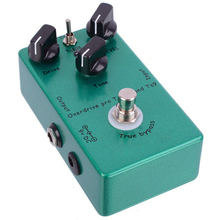 1pcs Vintage Electric Guitar Effect Pedal Metal Overdrive Professional Guitar Effects Pedal for TS9 TS808 biyang x drive overdrive guitar effect pedal stompbox for electric guitar chipset changeable to create diffenet tone od 8