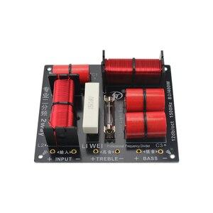 Image 2 - GHXAMP Divisor de woofer agudos de 2 vías, 400W, Tweeter y Bass Crossover 8ohm, 1,5 khz con bombilla con protección contra sobrecorriente, 1 ud.
