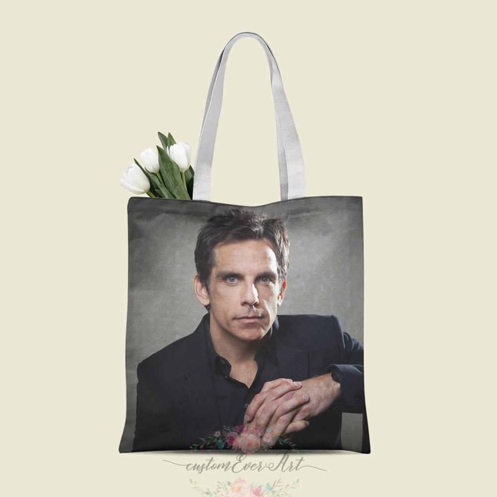 Ben Stiller сумка на заказ холщовые сумки-шопперы для женщин для учителя Сумки на день рождения Подарочная сумка персонализированные подарки