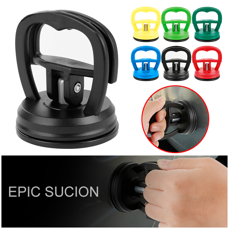 Mini Car Dent Remover Puller Auto Body Dent Removal Tools Strong Suction Cup Car Repair Kit Glass Metal Lifter Locking