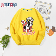 Limited Time Discount Kids New Cartoon Cute Dog Print Sweatshirts Long Sleeve Hoodies Boys Clothing Girls Tops Autumn Hoodie