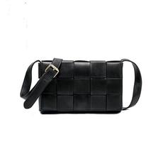 iVog New Arrival Everyday Ladies Small Messenger Shoulder Handbag Black Fashion Chain Hand