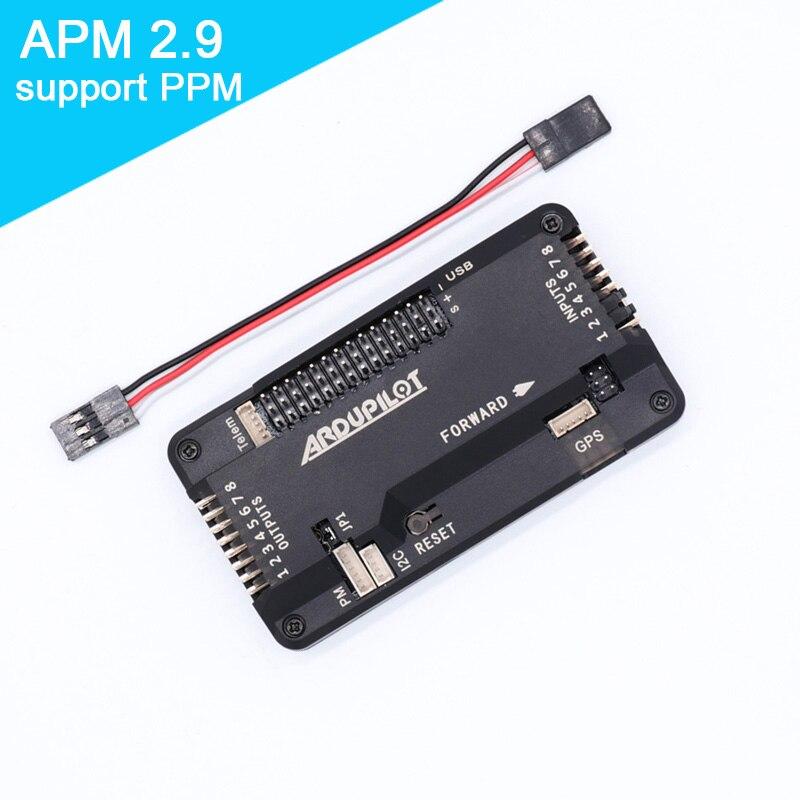 APM2.9 APM2.8 apm2.6 controlador de vôo board Apoio PPM 2.8 atualizado bússola interna para RC Quadcopter Multicopter Ardupilot