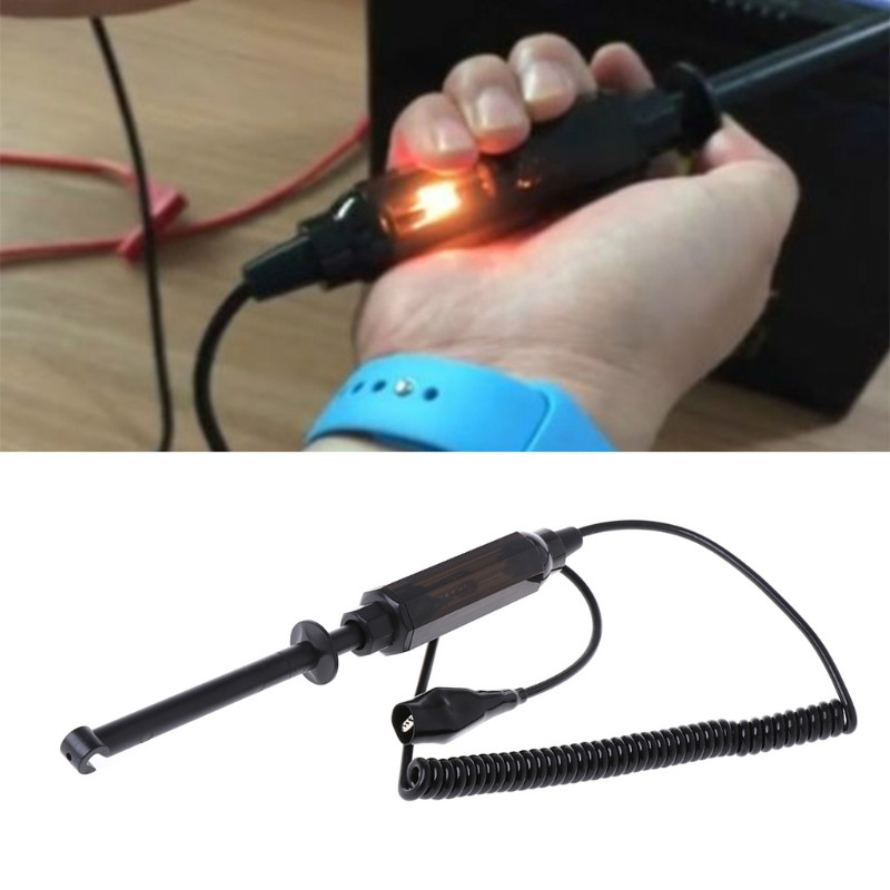 1pc Car Testing Tools Auto Voltage Circuit Tester 6V/12V/24V DC Hook Probe Test Light Pencil For Car Truck Test Lamps