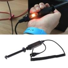 1pc Auto Prüfung Werkzeuge Auto Spannung Circuit-Tester 6 V/12 V/24 V DC Haken Sonde test Licht Bleistift für Auto Lkw Test Lampen