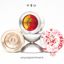 New Arrive  yoyoapartment  General sword 3 YOYO Sleep king  metal yoyo for professional 1A 3A 5A 10 colors