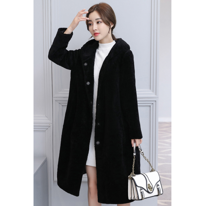 Sale Item Special Price Link New Fashion Long Coats Women Hooded Artificial Fur Coat Thick Warm Winter Coat Faux Fur Outerwear