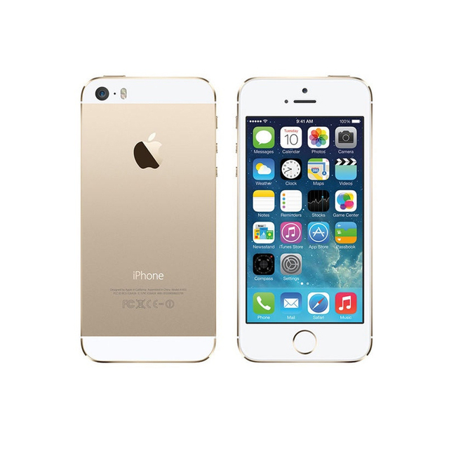 Factory Unlocked Original Used Apple iPhone 5S Cellphones With Fingerprint Smartphone IOS OS 4.0 Inch Screen Mobile Phone Tested