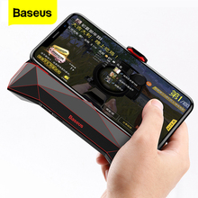 Baseus משחק טלפון מחזיק עבור iPhone XS מקסימום X סמסונג S10 S9 נייד טלפון Cooler גוף קירור קירור משחק בקר ידית מחזיק