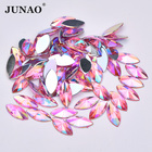JUNAO 7x15mm Pink AB...