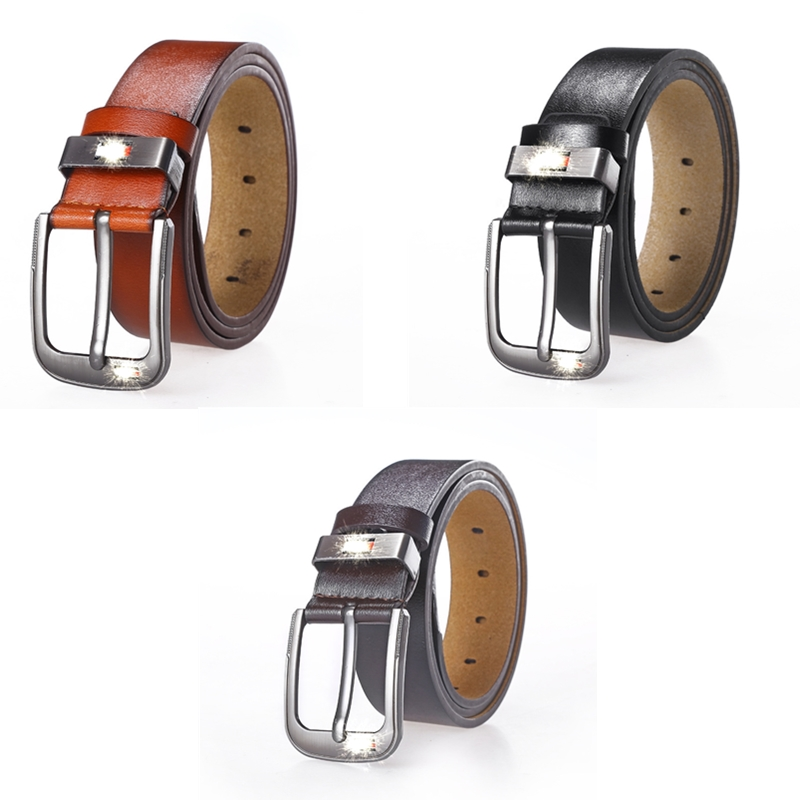 Fashion Leather Belts For Mens Casual Retro Pu Microfiber Leather Belt Washed Belt Men's Leather Belt Factory Direct Wholesale