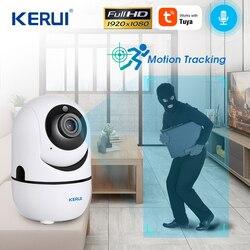 1080P kamera Wifi Tuya App chmura przechowywanie wykrywanie ruchu WiFi IP Mini kamera kamera monitorująca noktowizor kamera telewizji przemysłowej