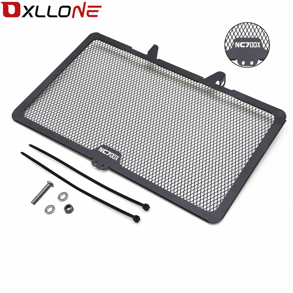 For <font><b>Honda</b></font> NC700X <font><b>NC</b></font> <font><b>700X</b></font> 2012 2013 2014 Motorcycle Accessories radiator grille guard Cover Motorbike Radiator Grille Protective image