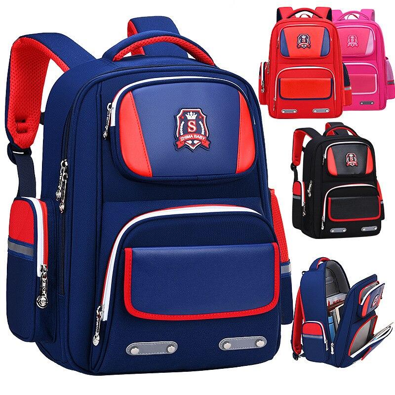 Водонепроницаемые детские школьные сумки, ортопедические школьные рюкзаки для мальчиков и девочек, детские школьные сумки, детский Ранец, ранец, рюкзак|Школьные ранцы| | АлиЭкспресс