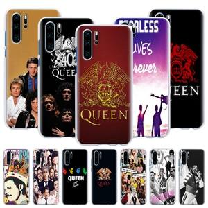 Чехол для телефона Freddie Mercury Queen band, Жесткий Чехол для Huawei P20 P30 Pro P40 Pro + P10 P20 P30 Lite P Smart 2020