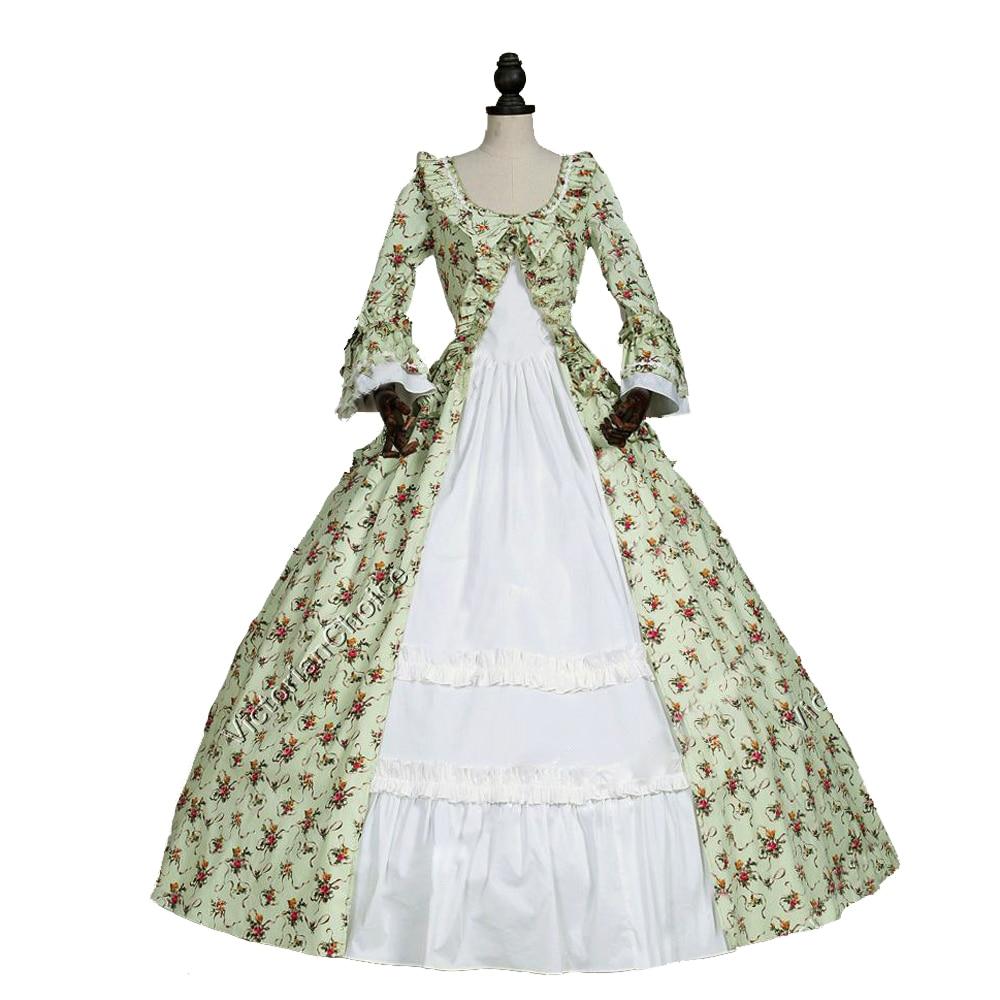Pakaian Gothic Wanita Champagne Gaun Victoria Era Victoria Gaun - Pakaian Wanita - Foto 4