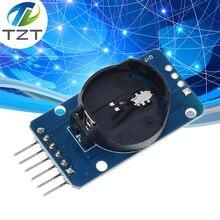 Tzt ds3231 at24c32 iic precisão rtc tempo real relógio módulo de memória rtc ds3231sn módulo de memória para arduino raspberry pi kit diy