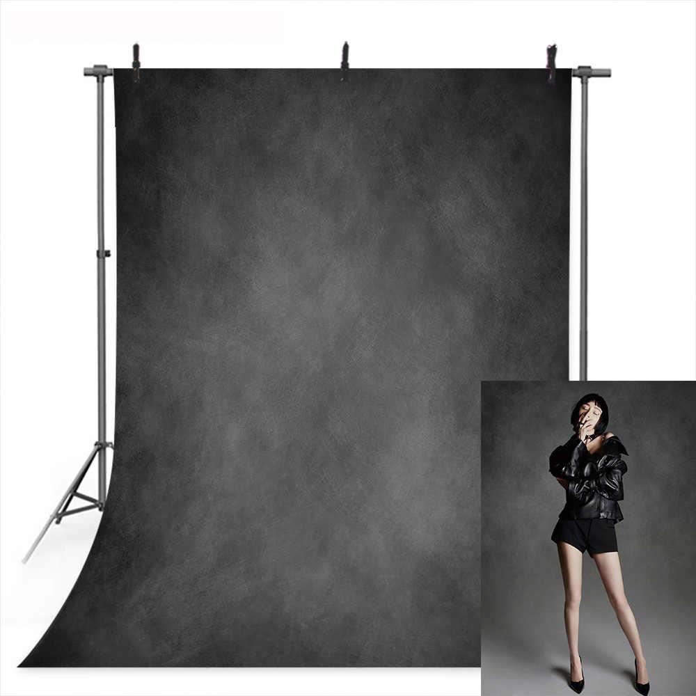 Ciemnoszara tekstura streszczenie tło dla fotografii jednolity kolor stary mistrz tło sesja zdjęciowa Retro portret tła rekwizyty