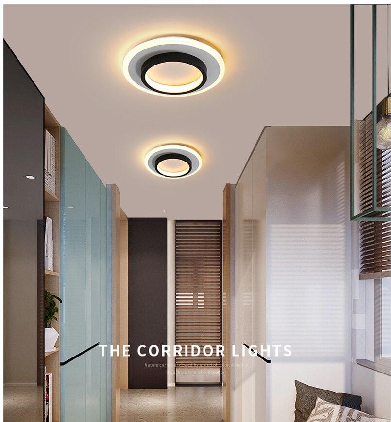 H25f921da50044a6789869f2724c95c2aI LICAN Modern LED Ceiling Lights for bedroom bedside Aisle corridor balcony Entrance Modern LED Ceiling Lamp for home